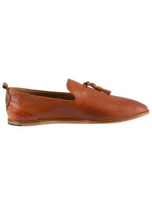 H by Hudson Comber Leather Shoes - Tan
