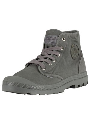 Palladium Pampa High Boots - Metal/Black
