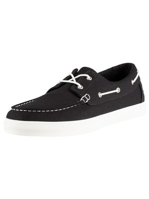Timberland Union Wharf Boat Shoes - Black