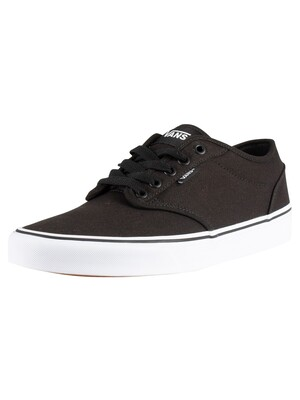 Vans Atwood Canvas Trainers - Black/White