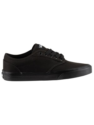 Vans Atwood Canvas Trainers - Black/Black