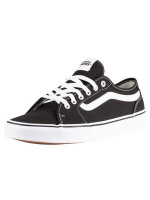 Vans Filmore Decon Canvas Trainers - Black/White