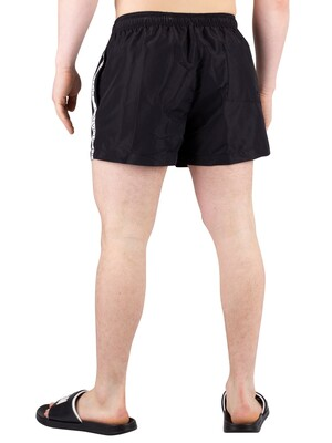 Calvin Klein Short Drawstring Swimshorts - Black
