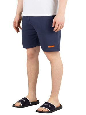 Calvin Klein Terry Sweat Shorts - Blue Shadow