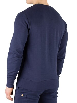 Ellesse Thenor Pocket Sweatshirt - Navy