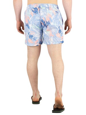 Gant Wave Swim Shorts - Mid Blue