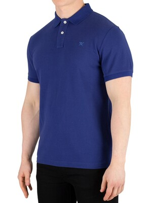 Hackett London Slim Fit Polo Shirt - Dark Blue