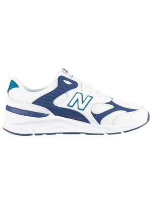 New Balance X-90 Leather Mesh Trainers - White