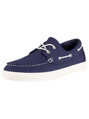 Timberland Union Wharf Boat Shoes - Black Iris Navy