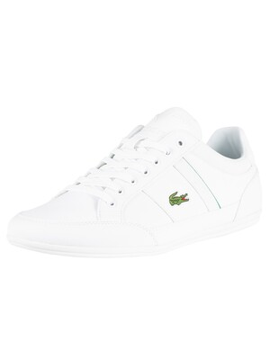 Lacoste Chaymon 219 1 CMA Leather Trainers - White