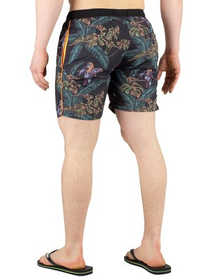 Scotch & Soda Classic Swim Shorts - Navy