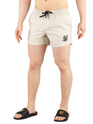 Sik Silk Standard Swim Shorts - Light Beige