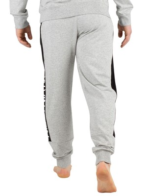 Calvin Klein Graphic Joggers - Grey Heather