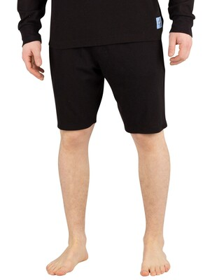 Calvin Klein Logo Sleep Shorts - Black