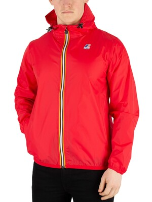 K-Way LE Vrai 3.0 Claude Packable Jacket - Red
