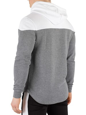 11 Degrees Vortex Block Pullover Hoodie - Charcoal Marl