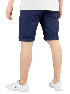Carhartt WIP Swell Chino Shorts - Blue Rinsed