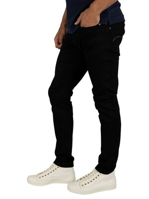 G-Star Revend Skinny Jeans - Pitch Black