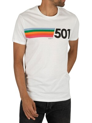 Levi's Graphic 501 T-Shirt - White