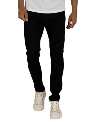 G-Star 3301 Slim Jeans - Pitch Black