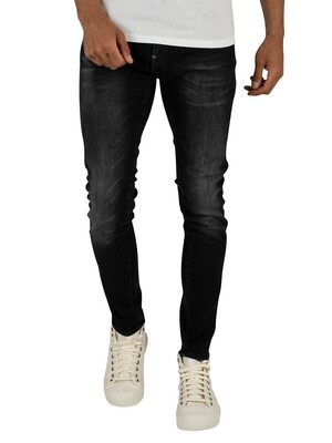 G-Star Revend Skinny Jeans - Medium Aged Faded