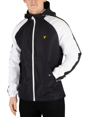Lyle & Scott Colour Block Jacket - True Black