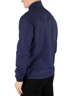 Lyle & Scott Lightweight Funnel Neck Jacket - Navy
