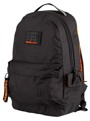 Superdry Hollow Montana Backpack - Black Marl