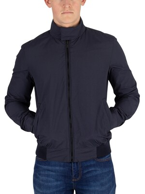 Superdry Montauk Harrington Jacket - Washed Navy