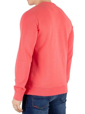 Superdry Orange Label Pastelline Sweatshirt - Duster Coral