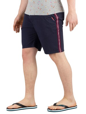 Superdry Sunscorched Sweat Shorts - Navy Micro Dot