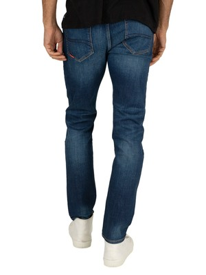 Superdry Tyler Slim Jeans - Union Dark Blue
