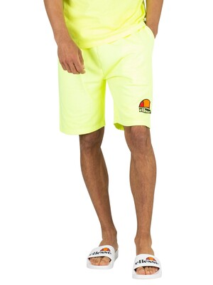 Ellesse Barbados Sweat Shorts - Neon Yellow