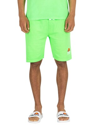 Ellesse Barbados Sweat Shorts - Neon Green