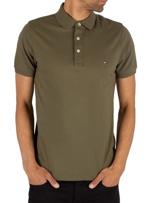 Tommy Hilfiger Slim Fit Poloshirt - Grape Leaf