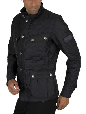 Barbour International Ariel Quilt Jacket - Navy