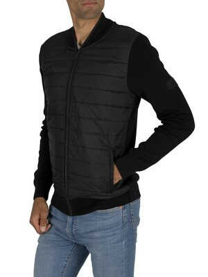 Barbour International Baffle Zip Jacket - Black