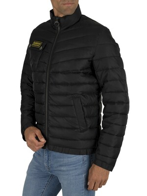 Barbour International Chain Baffle Jacket - Black
