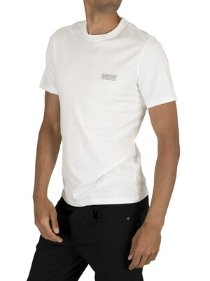 Barbour International Small Logo T-Shirt - White