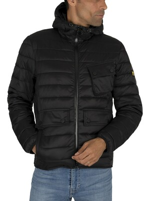 Barbour International Ouston Quilt Jacket - Black