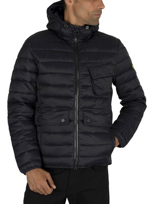 Barbour International Ouston Quilt Jacket - Navy