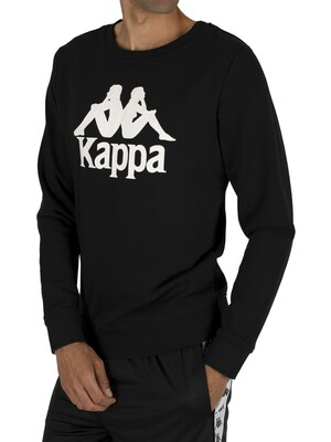 Kappa Zemin Graphic Sweatshirt - Black/White