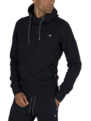 Superdry Collective Pullover Hoodie - Box Navy