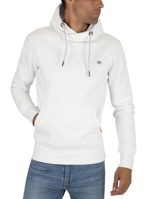Superdry Collective Pullover Hoodie - Optic