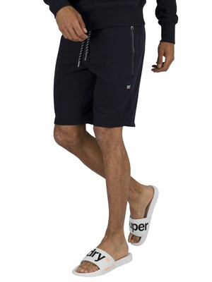 Superdry Collective Sweat Shorts - Box Navy
