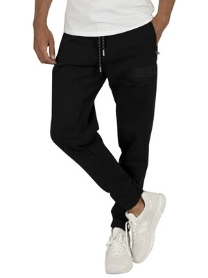 Superdry International Applique Joggers - Black