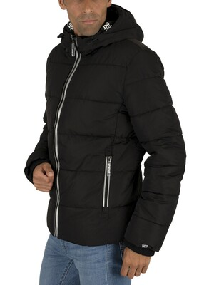 Superdry New House Sports Puffer Jacket - Black