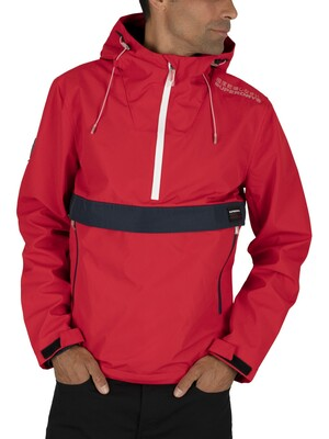 Superdry Overhead Elite SD-Windcheater Jacket - Tomato Red