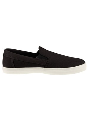 Timberland Union Wharf Canvas Slip On Trainers - Black
