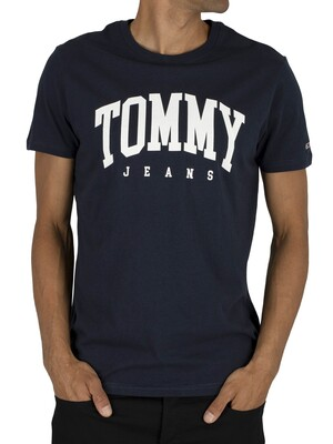 Tommy Jeans Essential T-Shirt - Black Iris Navy